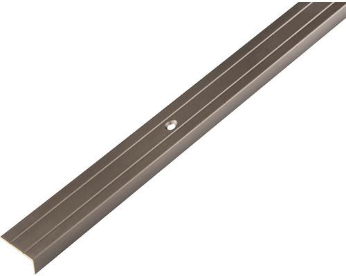 Kantenschutzprofil Aluminium bronze 23x5 mm, 2 m