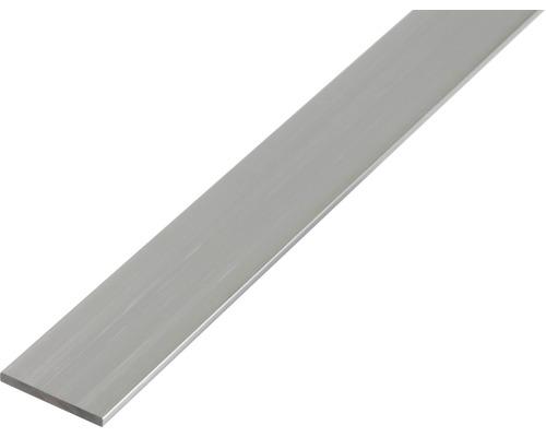 Flachstange Aluminium 20x2 mm, 2 m