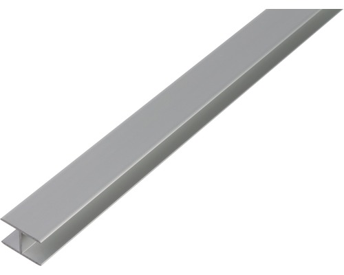 H-Profil Aluminium 5,9x20x1,5 mm, 2 m