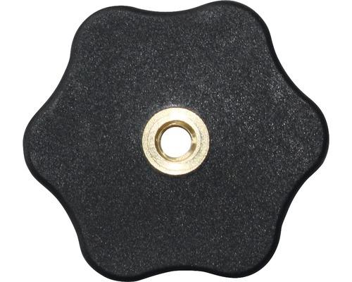 Sterngriffmutter flach Ø 50 mm M8, 20 Stück