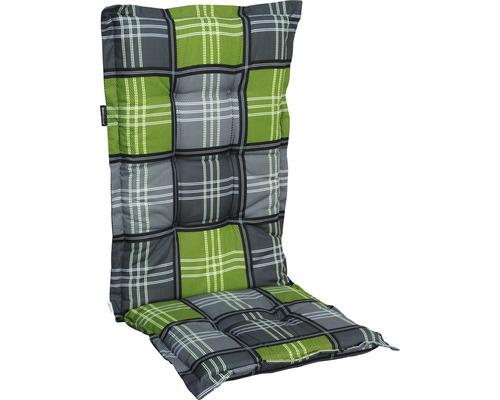 Auflage für Hochlehner Madison Patchy Baumwolle-Polyester grau-grün-schwarz