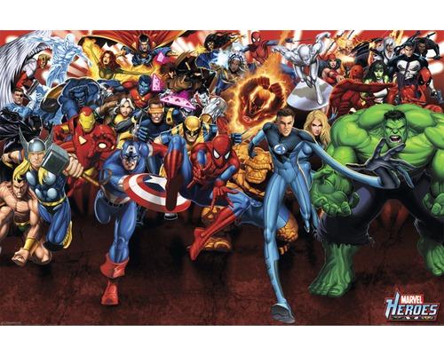 Poster Marvel Heroes 61x91,5 cm