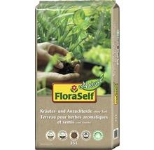 Kräutererde und Anzuchterde FloraSelf Nature torffrei 35 L