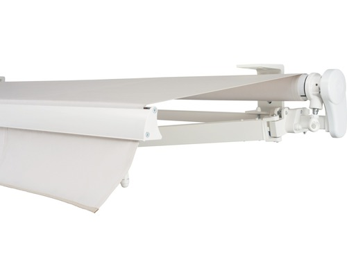Gelenkarmmarkise 600x250 cm SOLUNA Proof ohne Motor Dessin 6020
