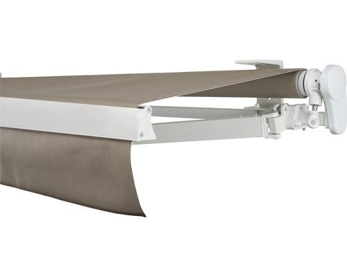 Gelenkarmmarkise 600x200 cm SOLUNA Proof ohne Motor Dessin 8779