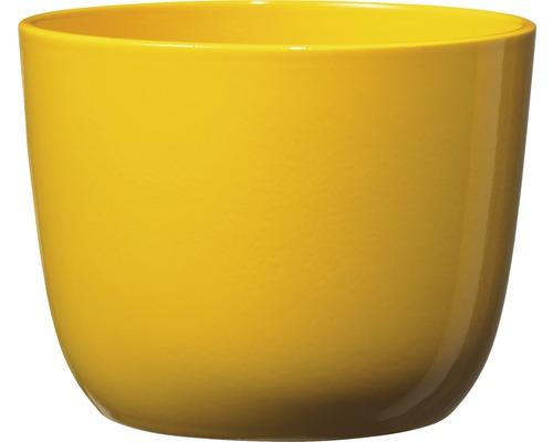 Blumentopf Soendgen Sevilla Keramik Ø 12 H 10 cm gelb