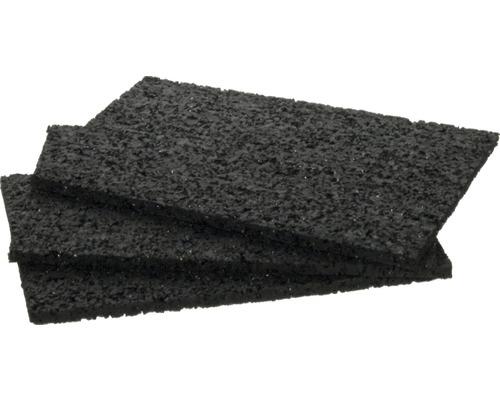 Ausgleichspat Schwarz 90x60x3 mm 60 Stück