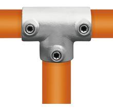 T-Stück Buildify lang Rohrverbinder für Gerüstrohr aus Stahl Ø 33 mm