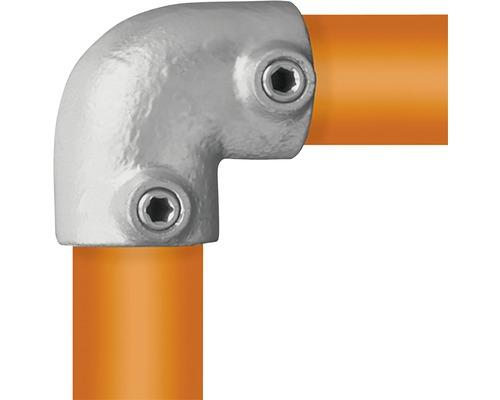 Winkelstück Buildify Rohrverbinder 90° für Gerüstrohr aus Stahl Ø 33 mm