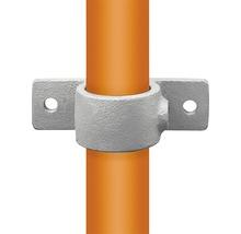 Befestigungsring Buildify mit Flansch für Gerüstrohr aus Stahl Ø 33 mm