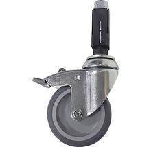 Rolle Buildify für Gerüstrohr aus Stahl feststellbar Ø 33 mm