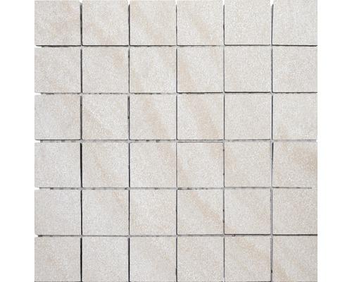 Feinsteinzeugmosaik Helios beige 30x30 cm