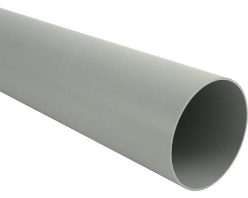 Fallrohr 75 mm grau