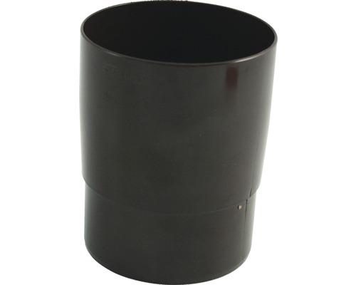 Rohrmuffe 75 mm braun