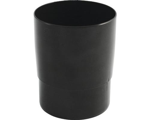 Rohrmuffe 105 mm braun