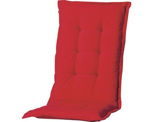 Auflage für Hochlehner Madison Panama Baumwolle-Polyester rot