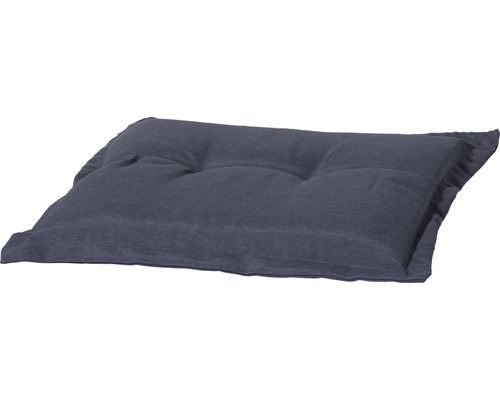 Auflage für Gartenhocker Madison Panama Baumwolle-Polyester grau