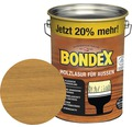 BONDEX Holzlasur kiefer 4,8 l (20 % Gratis!)