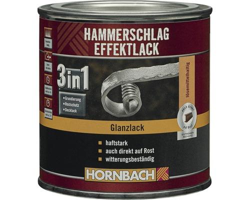 Hammerschlaglack Effektlack 3in1 glänzend dunkelblau 250 ml