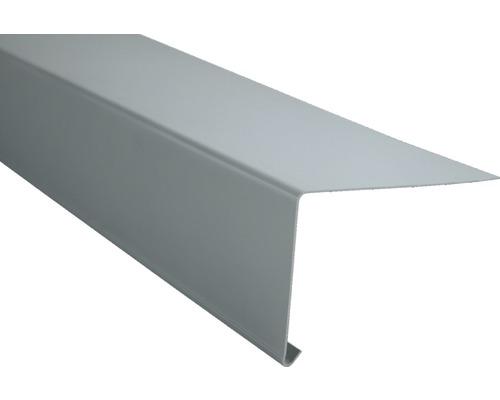Traufstreifen 2000x116 mm grau