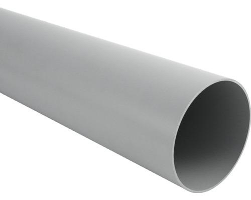 Fallrohr 53 mm grau