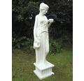 Gartenfigur Hebe Polyresin 42 x 47 x 159 cm, weiß