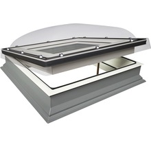 Flachdach-Fenster mit Kuppel Fakro DMC-C P2 60x60 cm