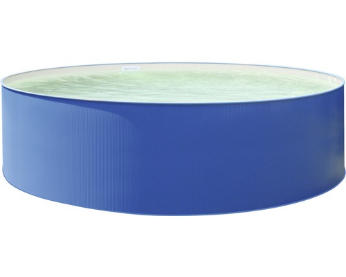 Aufstellbecken Ø 450 x 90 cm, blau-sand