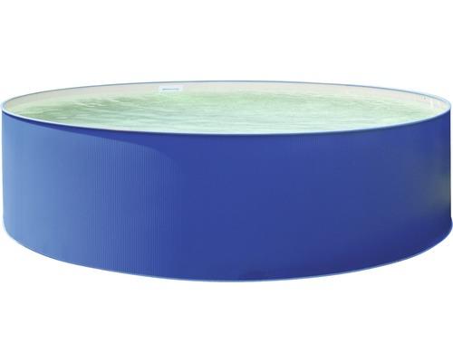 Aufstellbecken Ø 350 x 90 cm, blau-sand