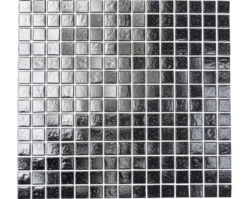 Glasmosaik A 50 schwarz 30,5x32,7 cm