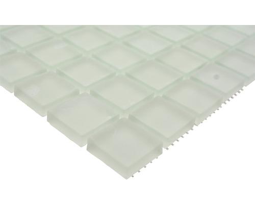 Glasmosaik XCM 8045 30,2x32,7 cm weiß