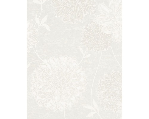 Vliestapete Estelle floral beige 2