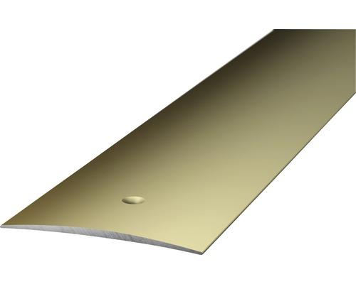 Übergangsprofil Alu edelstahl 1000x40 mm