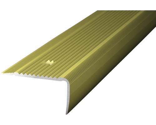 Übergangsprofil Alu gold 1000x45x23 mm