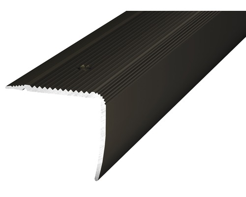 Treppenkantenprofil Alu NOVA bronze 35x30x1000 mm