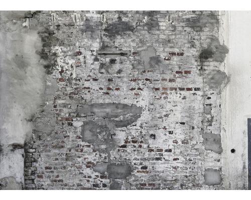Vliestapete 445404 Digitaldruck Factory IV Stein-Optik grau 300 x 418,50 cm