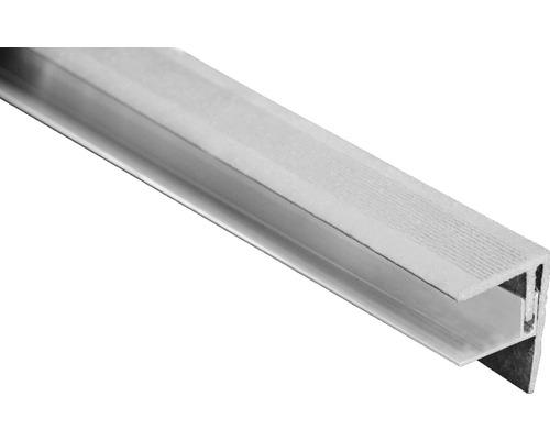 Seitenabschluss Grau 2500x64x48 mm