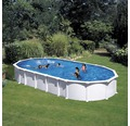 Stahlwandbecken oval Dream-Pool 915 x 470 x 132 cm (L x B x H)