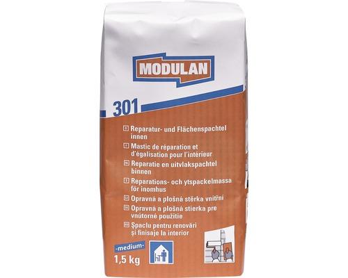 MODULAN Reparaturspachtel / Flächenspachtel 301 innen medium 1,5 kg