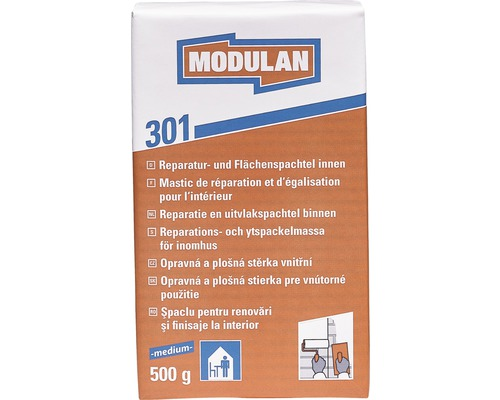 MODULAN Reparaturspachtel / Flächenspachtel 301 innen medium 500 g