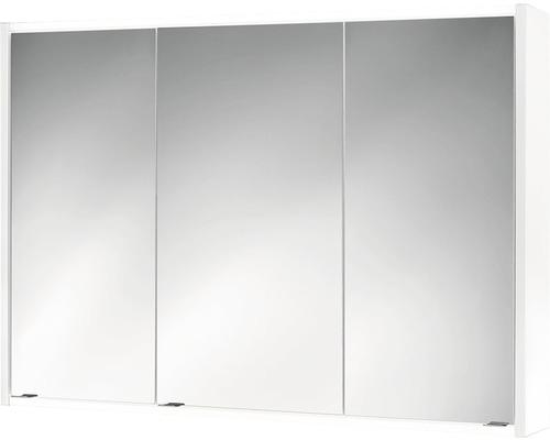 Spiegelschrank Jokey Batu LED weiß 100x71 cm IP20