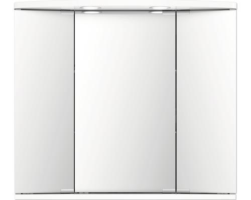 Spiegelschrank Jokey Funa LED weiß 68x60 cm IP20