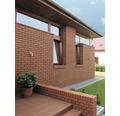 Fassadenklinker Naturrot Massiv 7-Schlitz 240 x 115 x71 mm