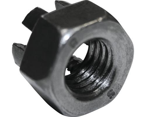 Kronenmutter DIN 935 M8, 50 Stück