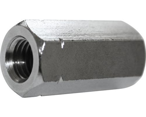 Verbindungsmutter 6-Kant 6x30 mm Edelstahl A2, 100 Stück