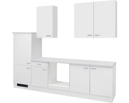 Küchenleerblock Wito 270 cm weiß