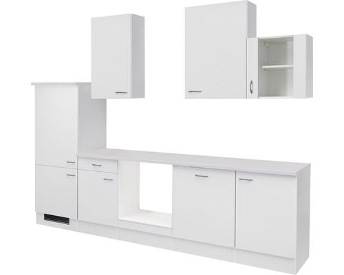 Küchenleerblock Wito 280 cm weiß