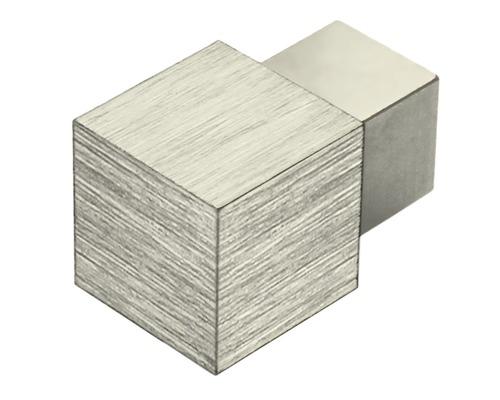 Eckstück Dural Squareline Aluminium Titan 9 mm