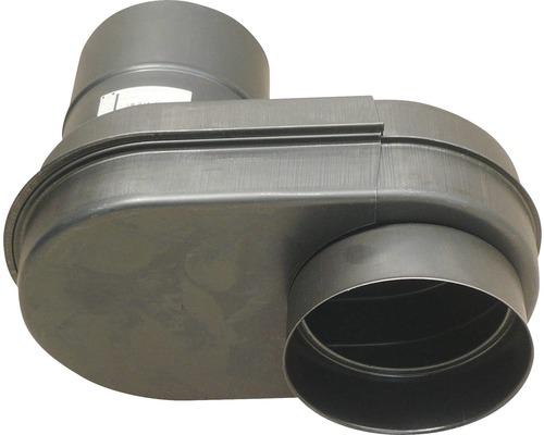 Ofenrohr-Rundnie Bertrams NR.21 Ø 120 mm gebläut schwarzblau