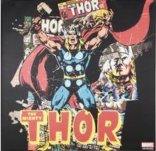 Leinwandbild Marvel, The Mighty Thor 70x70 cm